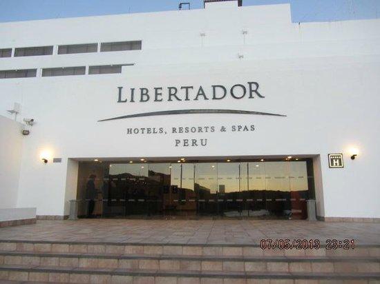 Libertador Lake Titicaca: Eingang