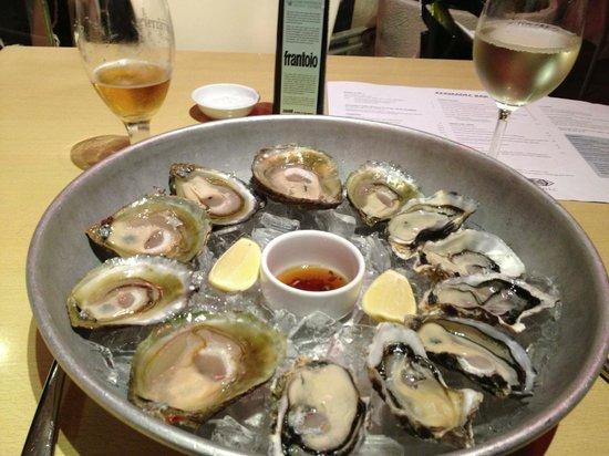 Kermadec Ocean Fresh Restaurant: Look at the bottom few especially one on the bottom right.