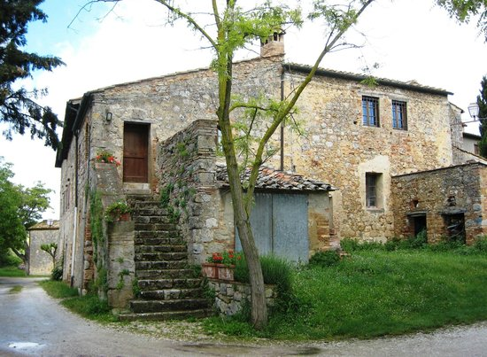 Casolare di Libbiano: Annexe (up the steps)