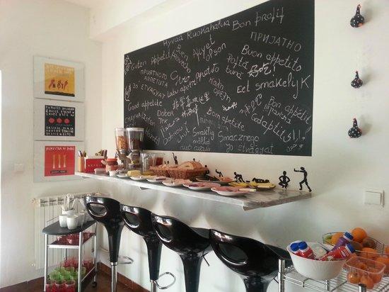 Dolce Cascais Guest House: Cocina