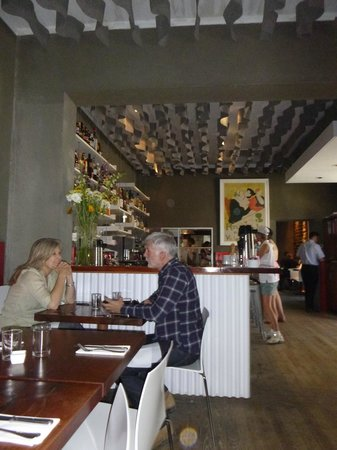 Cochineal: Dining room and bar