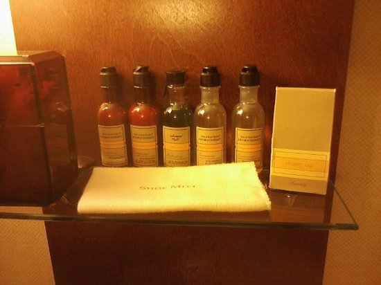 East Lansing Marriott at University Place : lotions and goodies
