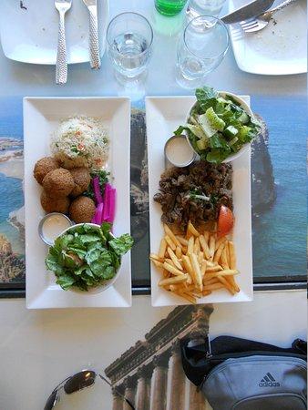 Mezza Lebanese Kitchen: Entrees