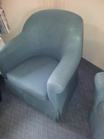 BEST WESTERN Bryson Inn: One of the dirty chairs