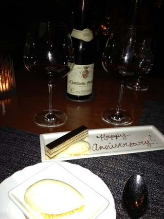 Colicchio & Sons Tap Room : Happy Anniversary