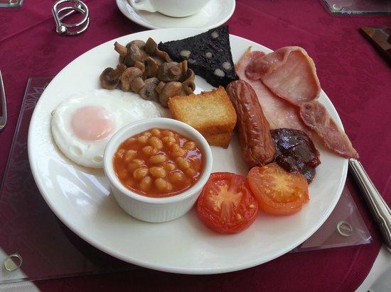 Ashbourne House: wonderful english breakfast
