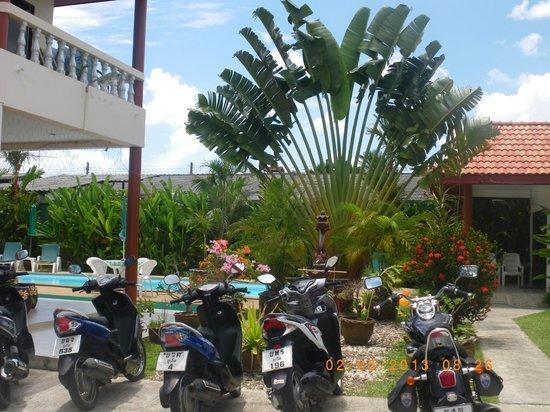 Sansuko Ville Bungalow Resort: Entrada