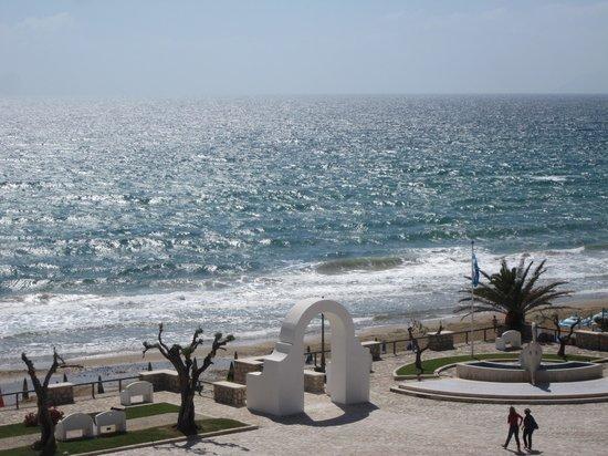 Hotel Marconi: Blick vom Balkon Richtung Meer