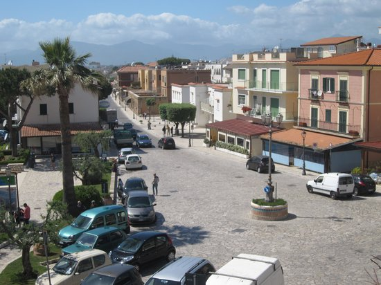Hotel Marconi: Blick vom Balkon