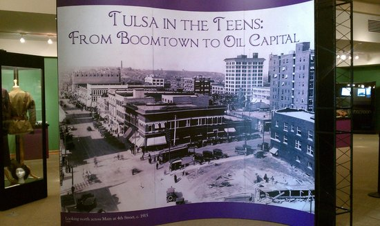 Tulsa Historical Society & Museum: Tulsa in the 1900s exhibit
