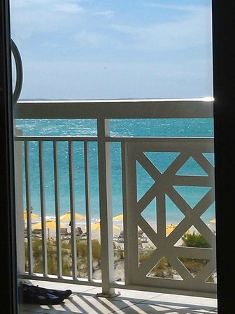 Alexandra Resort: View from couch in the room