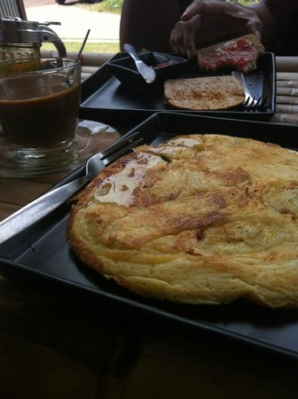 Samatha Bed & Breakfast: Banana Pancake