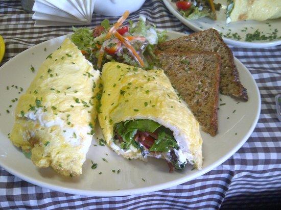 Cafe Bree Summer Omelette