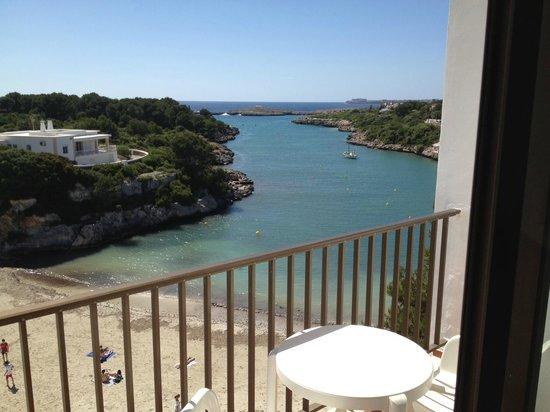 Santandria Playa Hotel: Vistas desde la terraza de la habitación