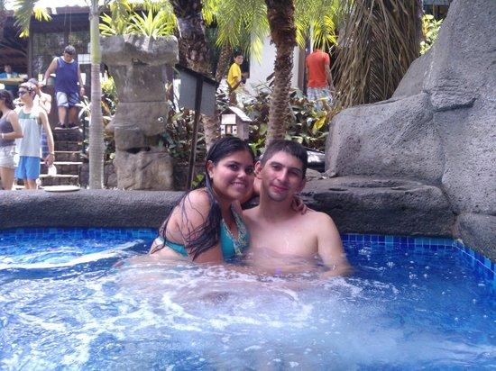 Hotel Monte Campana: En el yacussi
