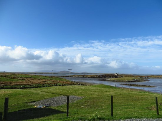 Moorcroft Holidays: View from Bunkhouse