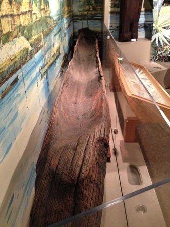 Fort Caroline National Memorial: Burnt Log Canoe