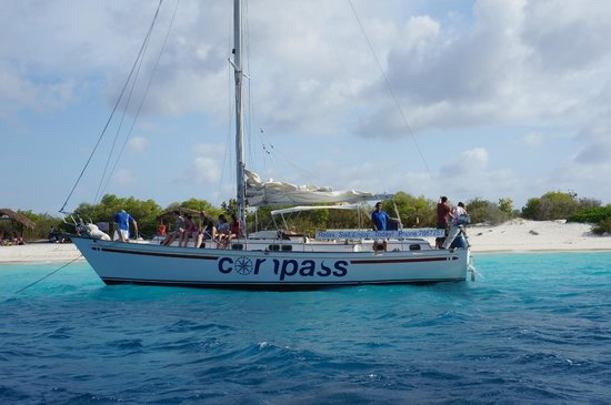 Compass Sailing: At Klein Bonaire