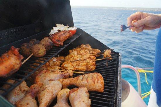 Compass Sailing: Prepair a delicius BBQ