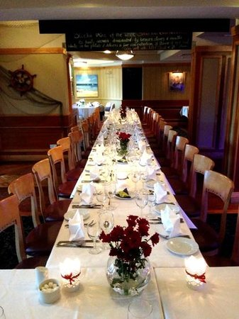 Grand Hotel Wicklow : Young chef awards night