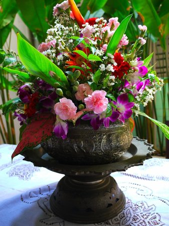 Sabye Bangkok Hotel: Sabye's Daily Fresh Flowers