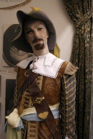 Historiengewölbe mit Staatsverlies: outdated mannequin