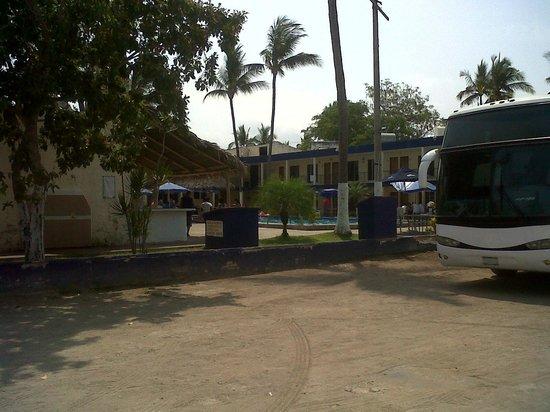 Hotel Penamar: estacionamiento