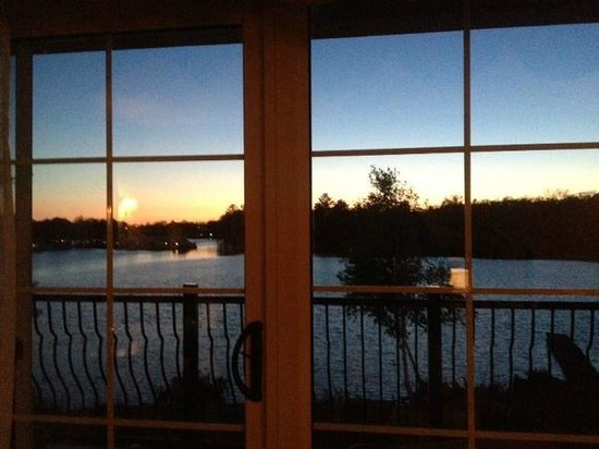 Christie's Mill Inn and Spa: View from the honeymoon suite