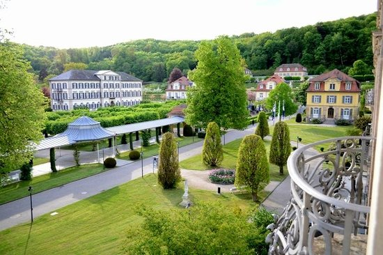 Dorint Resort & Spa Bad Bruckenau: view from junior suite