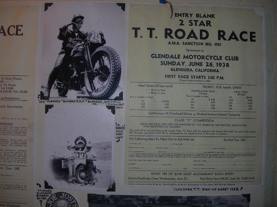 Triangle Road Cafe: interesting pre WW2 motorcycle racing postings