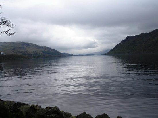 The Boot & Shoe: Ullswater Lake, Cumbria. Regarded as the most beautiful lake in the Lake District.