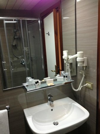 Carlton International Hotel: bathroom