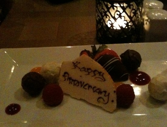 e.b.o Restaurant: EBO - Anniversary Treat!