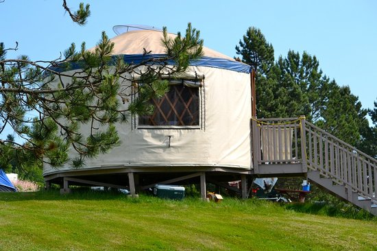 Shubie Campground: Stay in a Yurt!