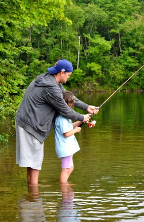 Shubie Campground: A fishing lesson