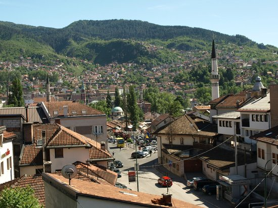 ‪جيست هاوس هالفات: View from apartment of Sarajevo - Halvat‬
