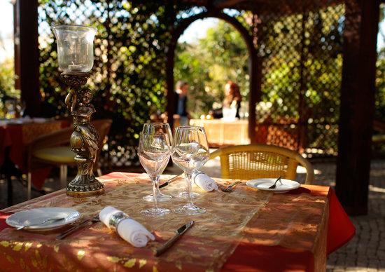 Aquarelle Restaurant: Terrace