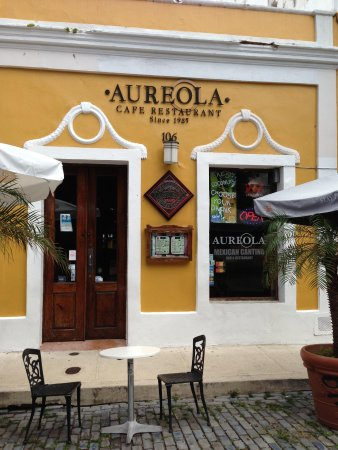 Aureola Cafe Restaurant San Juan Restaurant Reviews
