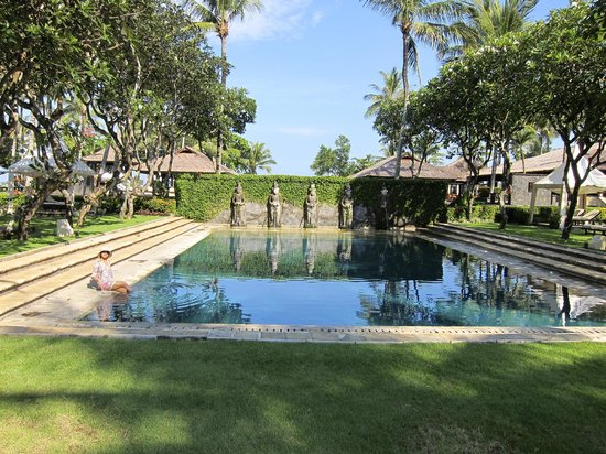 INTERCONTINENTAL Bali Resort: one of the many pools