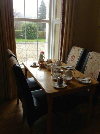 The Glen House : breakfast