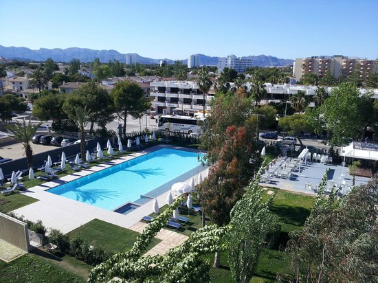 Early Morning View - Picture of Hotel Astoria Playa Only Adults, Port d'Alcudia - TripAdvisor