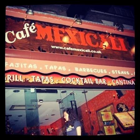 Cafe Mexicali : Add a caption