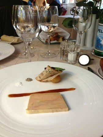 Auberge du Bon Laboureur: foie gras