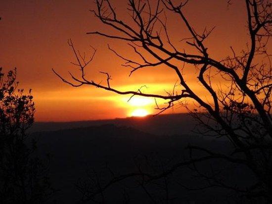 Les Chenes Verts : couche de soleil bastidonne