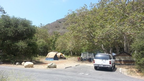 Tent Camping Site 24 Picture Of Leo Carrillo State