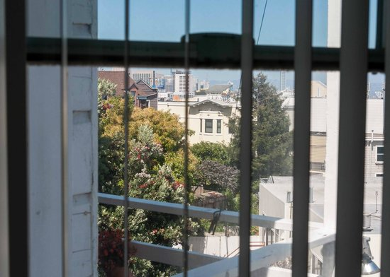 Inn on Castro: View from the white room