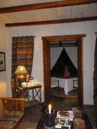 Dar Amane Guest Lodge: vers la terrasse