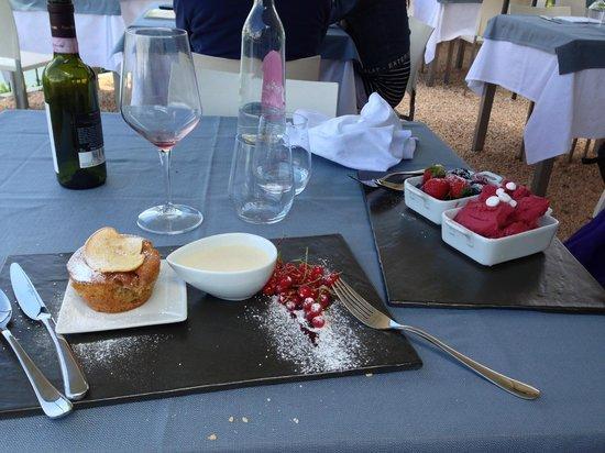 Mej Il Ceppo Restaurant & Relais: i dolci veramente buoni...