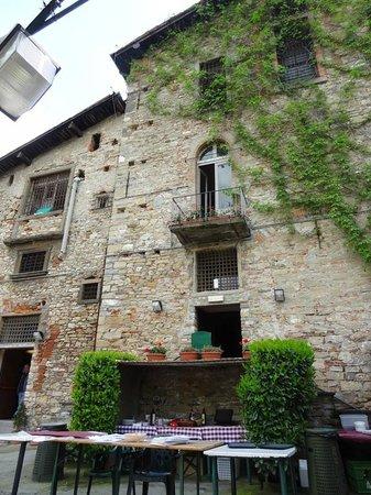 Il Circolino Citta Alta : Main building, from garden