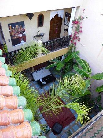 Riad Eden: patio